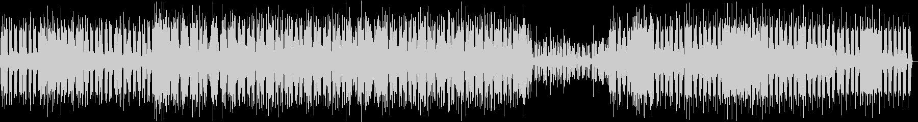 シンプルなミニマルテクノの未再生の波形