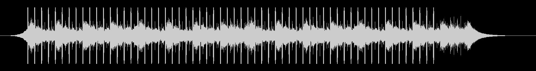 インタビュー(40秒)の未再生の波形