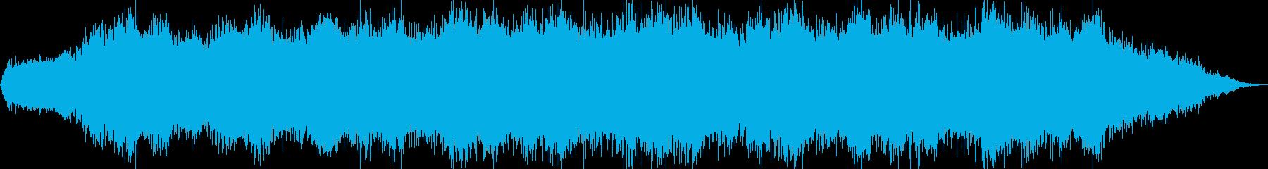 壮大な雰囲気のアンビエントの再生済みの波形