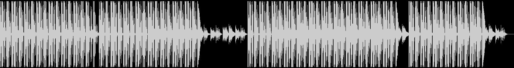 たまーにピアノの音がフラッシュバックするの未再生の波形