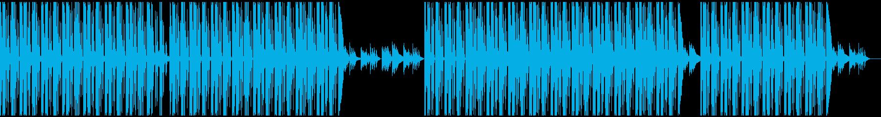 たまーにピアノの音がフラッシュバックするの再生済みの波形