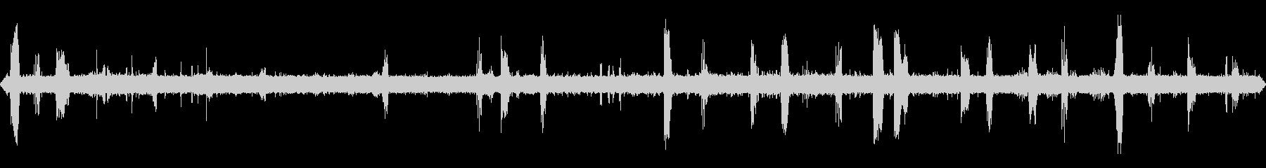 コマドリの棲む沢(亜高山)の未再生の波形