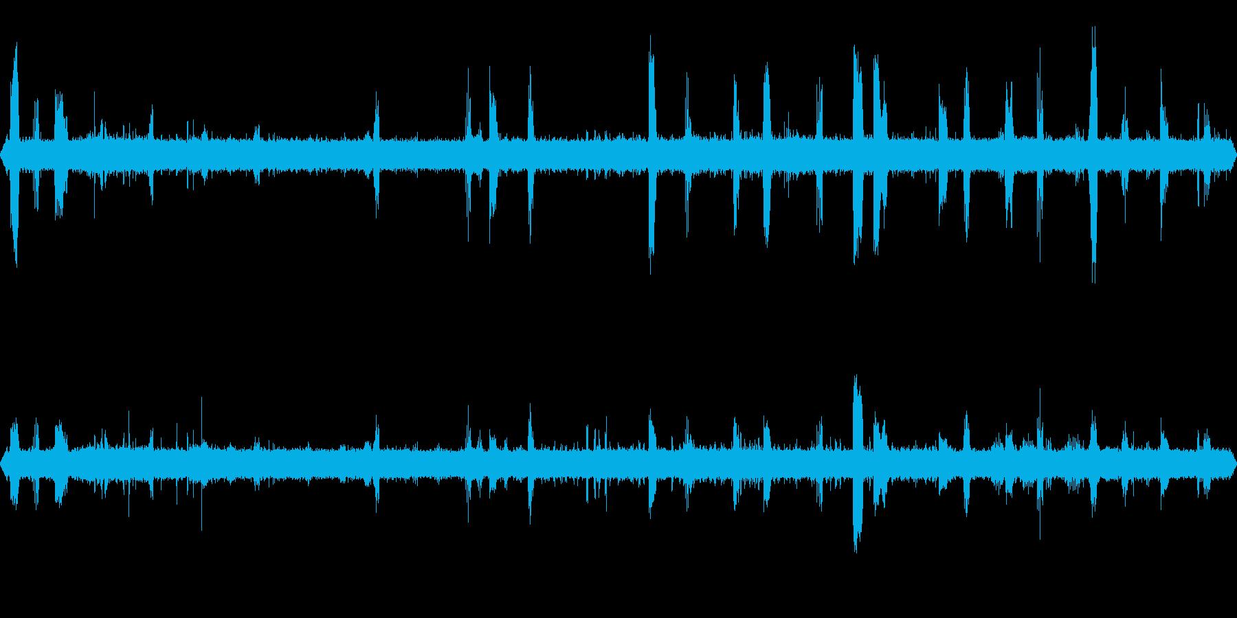 コマドリの棲む沢(亜高山)の再生済みの波形