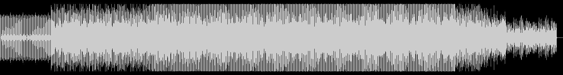ポジティブなEDM風BGMですの未再生の波形