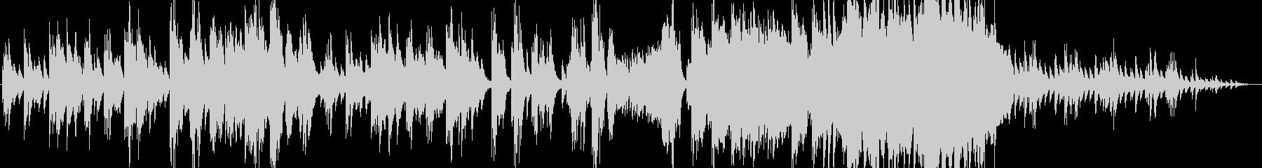 哀しげなピアノサウンドの未再生の波形