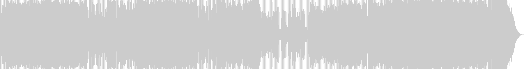 キャッチーな4つ打ちギターロックの未再生の波形