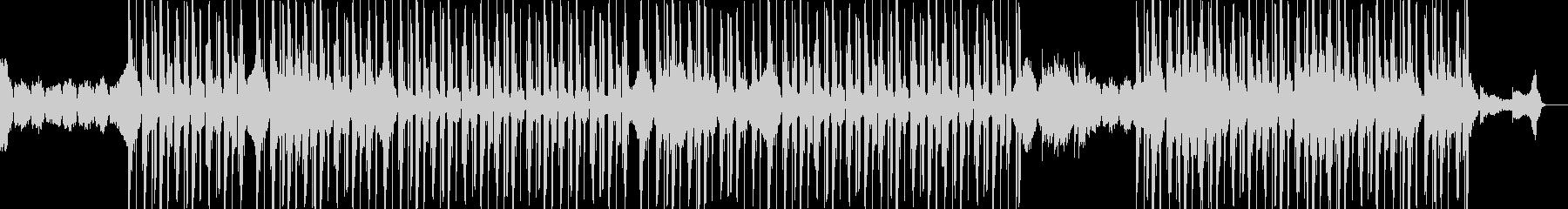 切ないメロディの寒空ヒップホップの未再生の波形