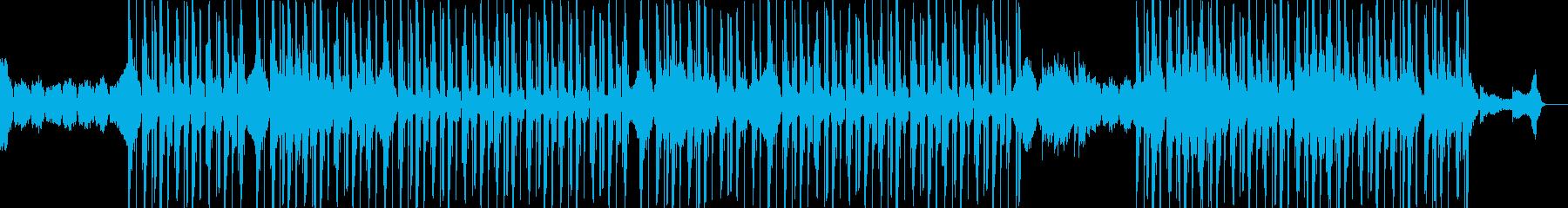 切ないメロディの寒空ヒップホップの再生済みの波形