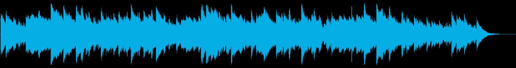 メルヘン 鉄琴 グロッケン チェレスタの再生済みの波形