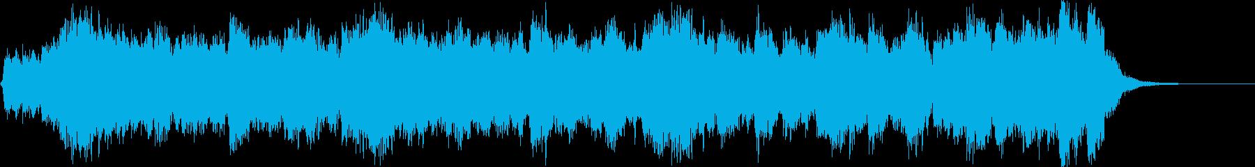 企業VPや華やか式典のオープニング30秒の再生済みの波形