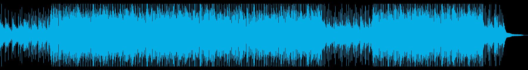 切ない雰囲気のトロピカルハウスピアノの再生済みの波形