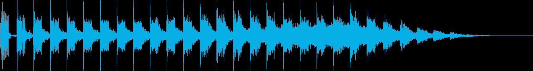 テレポート・ワープ・空間移動・瞬間移動の再生済みの波形