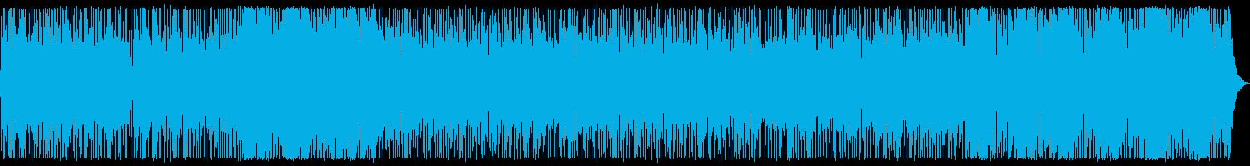 明るいミッドテンポのジャズポップの再生済みの波形