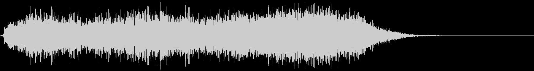 ホラー系効果音10の未再生の波形