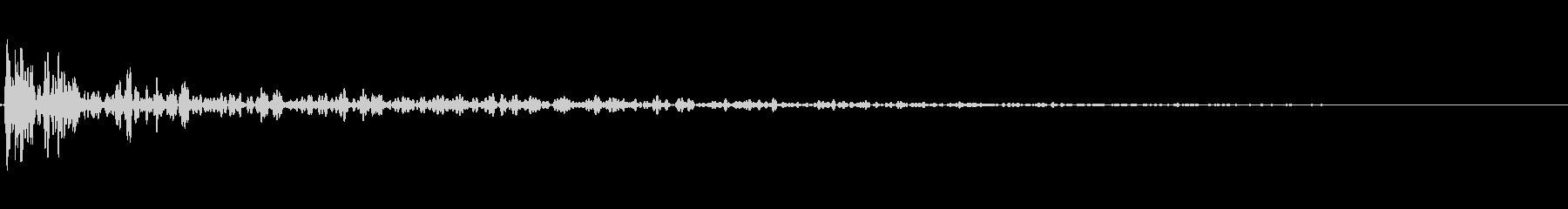 インパクトスリンキーサブクワッドVの未再生の波形