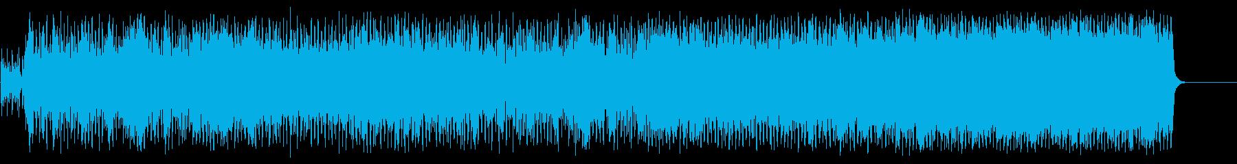 華やかで陽気なポップ/テーマの再生済みの波形