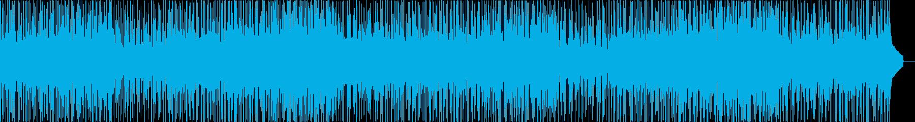 日常、ほのぼの、夏っぽいアコースティックの再生済みの波形