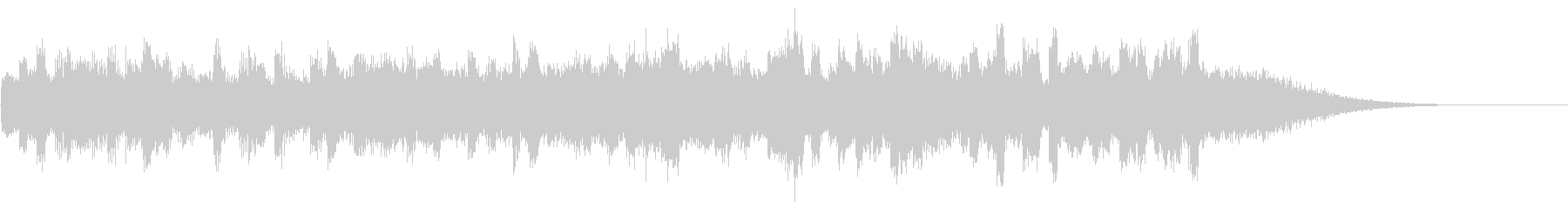 KANTBGM_piano緊迫感2の未再生の波形