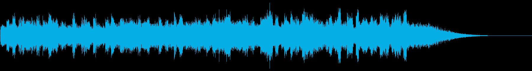 KANTBGM_piano緊迫感2の再生済みの波形