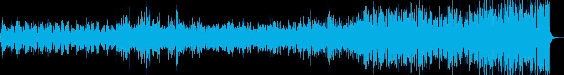 リズミカルなケルト風ロックの再生済みの波形