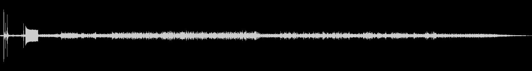 Apple Se20のビープ音を鳴...の未再生の波形