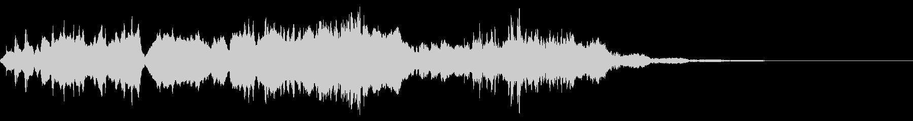 【SE 効果音】奇妙な音8の未再生の波形