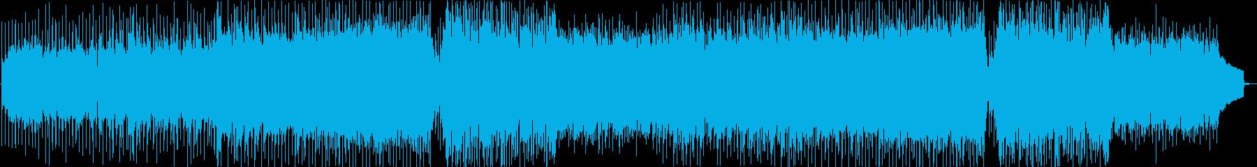 Cherishの再生済みの波形