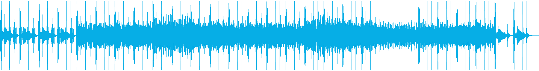 謎の古代遺跡 打楽器 プリミティブなの再生済みの波形