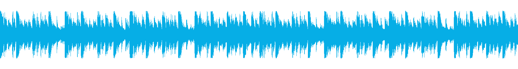 CMに躍動感、かっこいい、シンセ Sの再生済みの波形