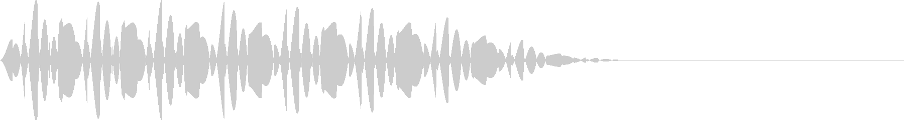 ブッ(エラー/キャンセル/失敗ファミコンの未再生の波形