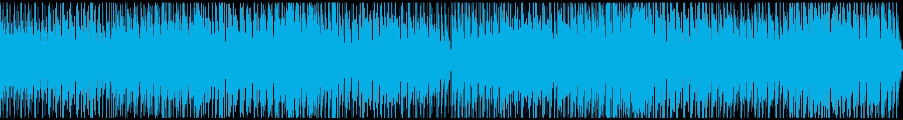 日本の夜祭りをイメージしたBGM/rの再生済みの波形