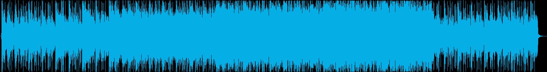 大物が登場しそうなダークで重厚な劇伴の再生済みの波形
