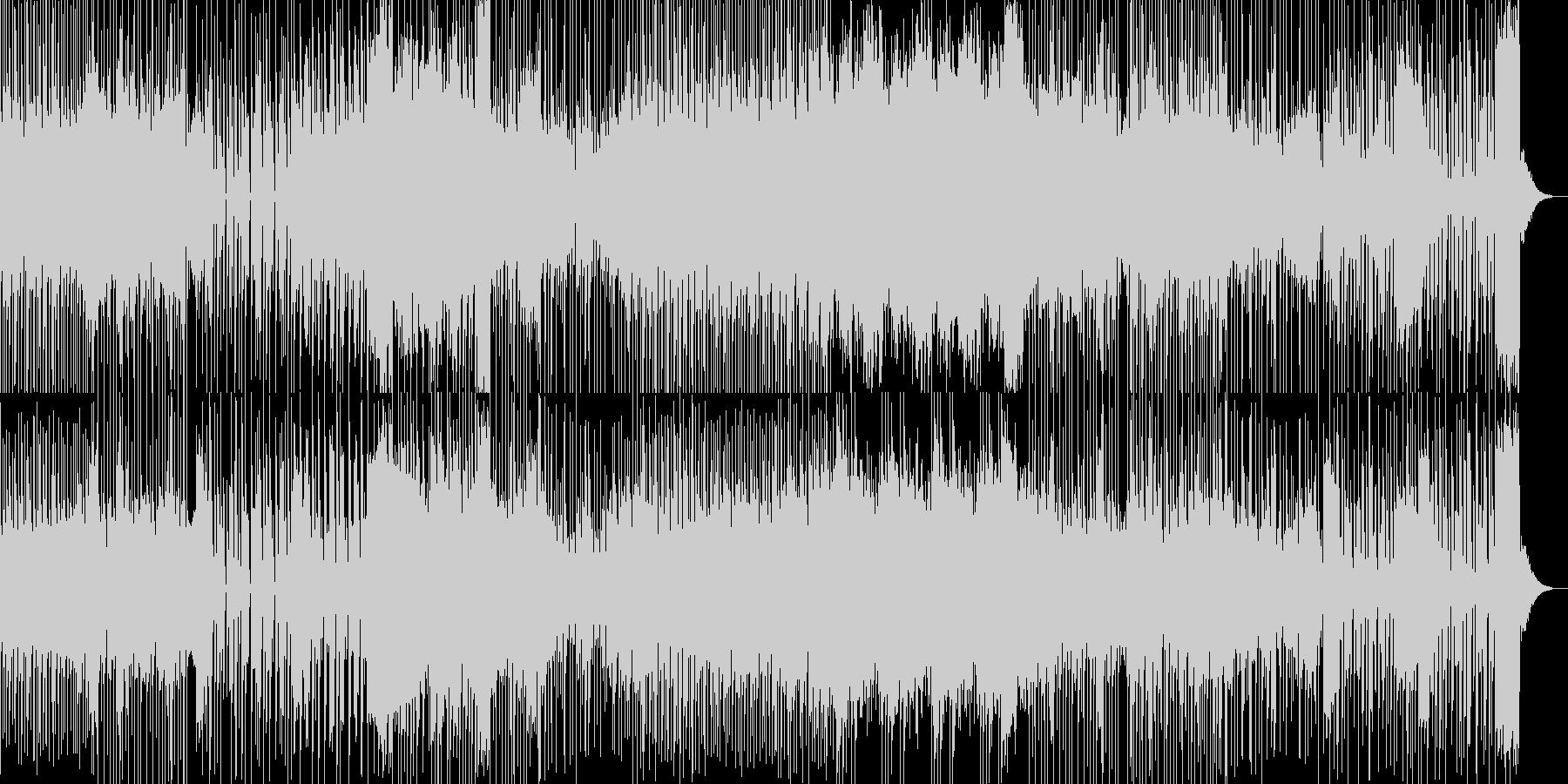 テクノ・トランス系のカッコイイ曲の未再生の波形