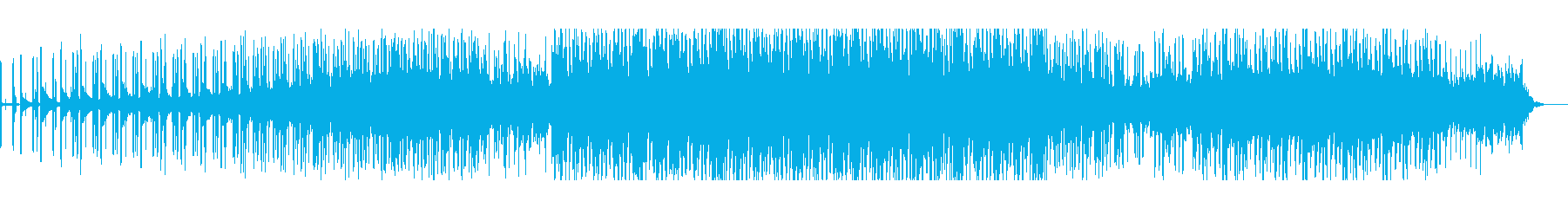 重厚でスローテンポなエレクトロニカの再生済みの波形