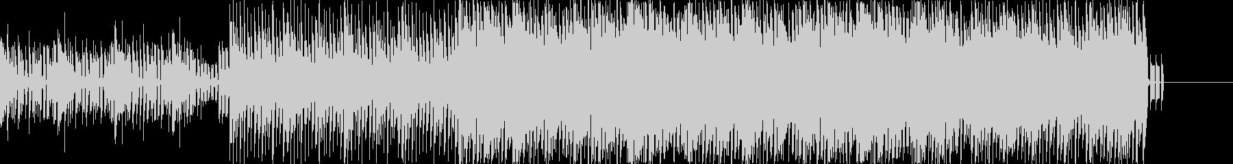 ビート感のあるシンセリードの雅楽ポップスの未再生の波形