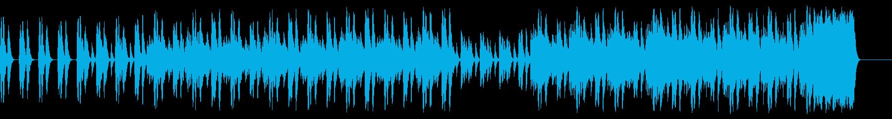 何かを予感させる緊張感のあるストリングスの再生済みの波形