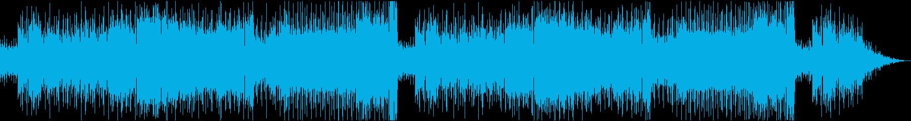 躍動感のある軽快なブルース調ロックの再生済みの波形