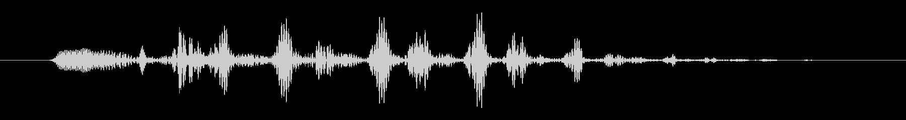 コミカル07_ビヨヨヨ_ボタンの未再生の波形