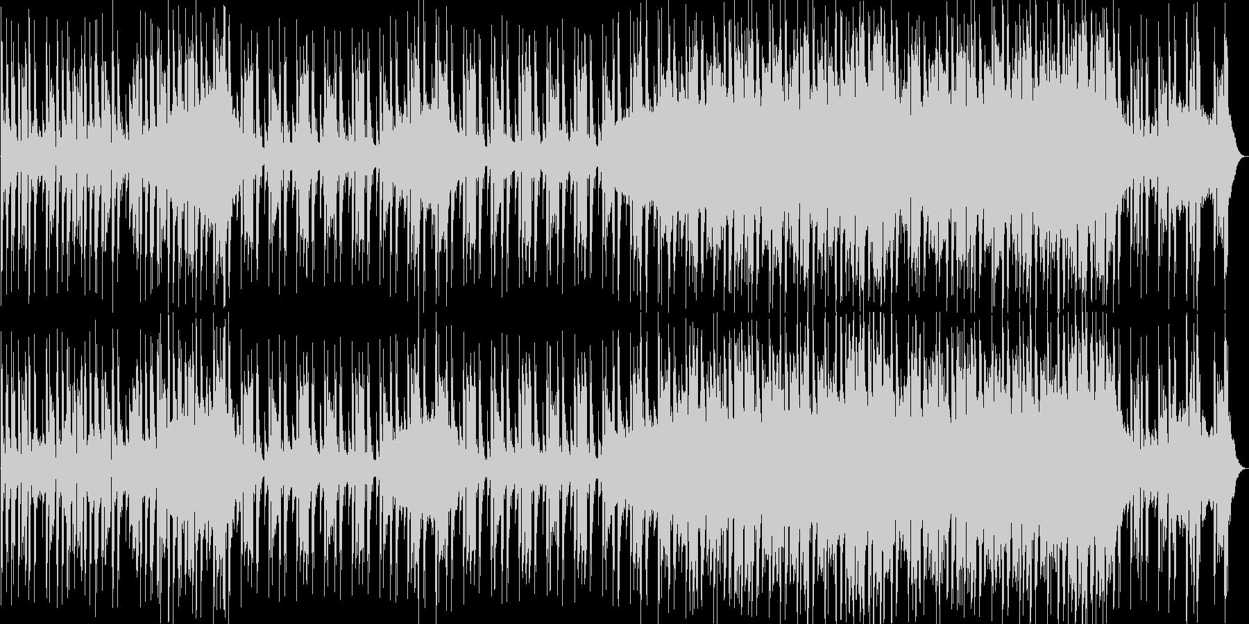 テクノCM映像用の曲企業VP都会で未来的の未再生の波形