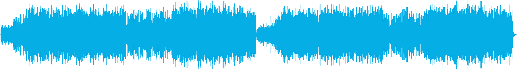 Cyberpunk city theme's reproduced waveform