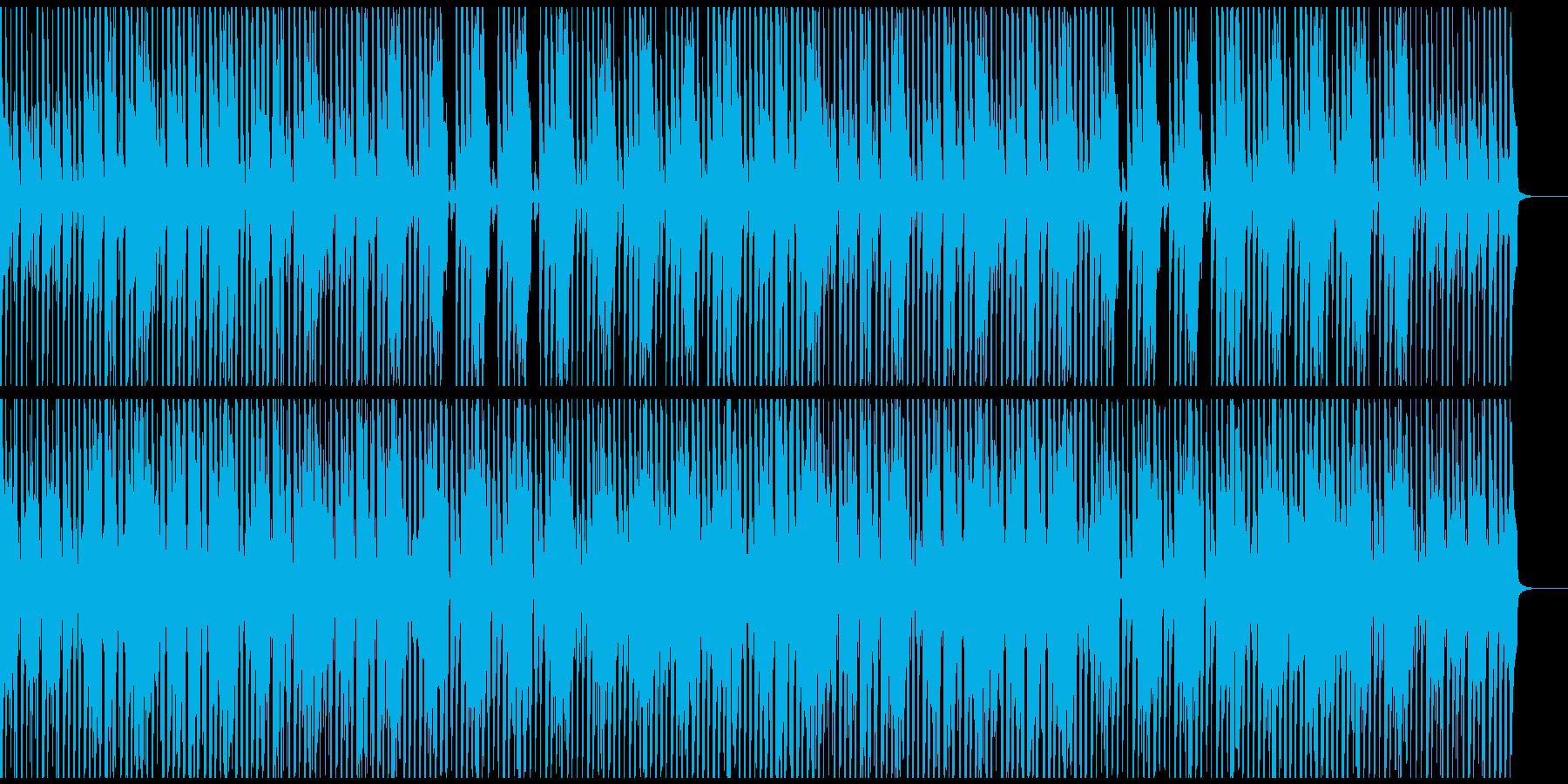 ウクレレと口笛のコミカルで楽しいBGMの再生済みの波形