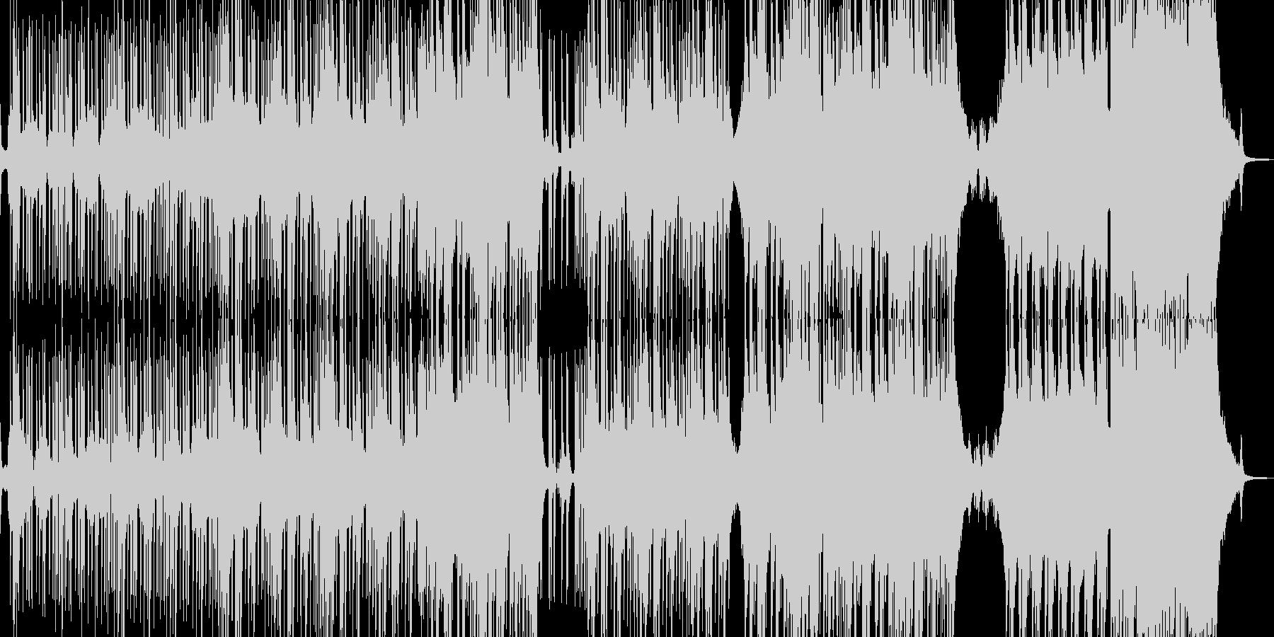 邪悪なヒップホップ・ギター無し 長尺の未再生の波形