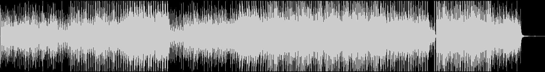 かわいい系の優しい音の未再生の波形