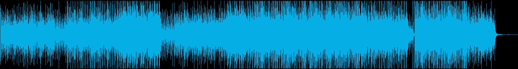 かわいい系の優しい音の再生済みの波形