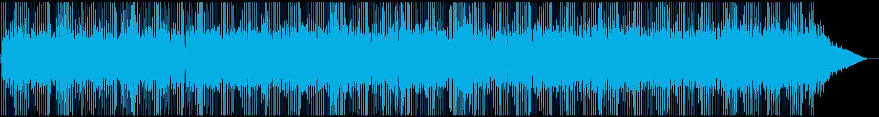明るく元気なパンクポップの再生済みの波形