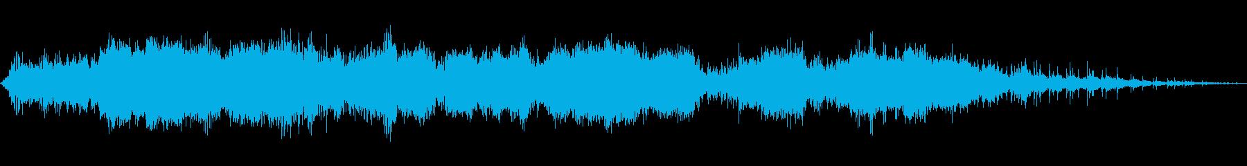 大規模なアーク、SCI FI宇宙レ...の再生済みの波形