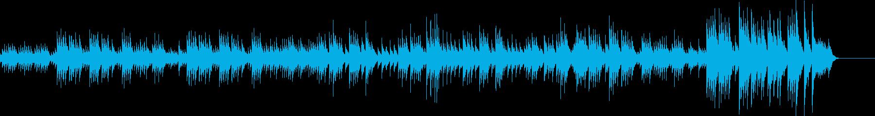 明るく優しいメロディーをオルゴールにしたの再生済みの波形