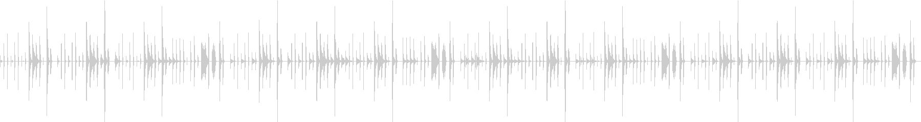 脱力系/ゆるい/コミカルほのぼのポップスの未再生の波形