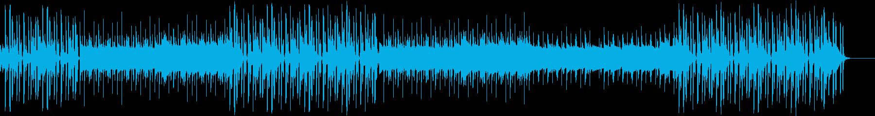 散歩中に流れてきそうなチルアウトの再生済みの波形