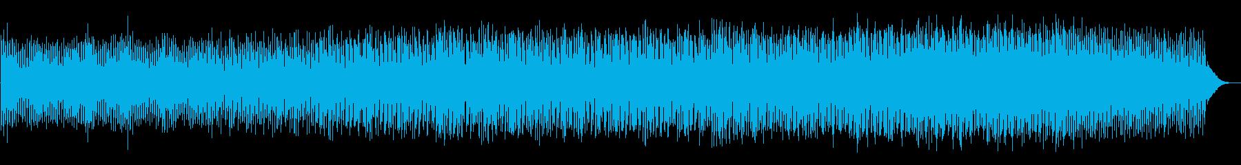 緊迫感を盛り上げるミニマルテクノの再生済みの波形